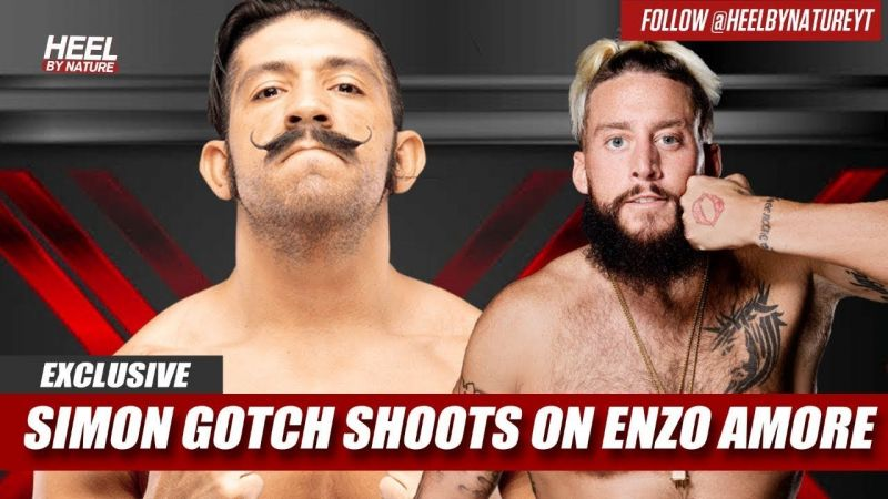 WWE Interview  Former WWE Superstar Simon Gotch Shoots On Enzo Amore 0300d79f7