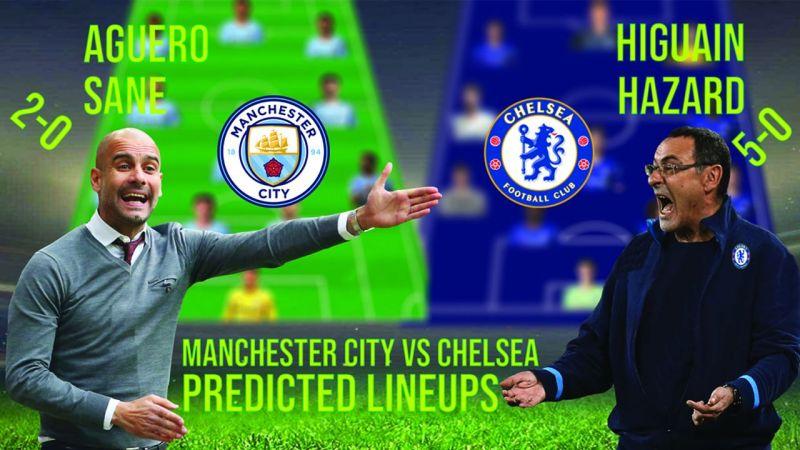 Chelsea Vs Man City Premier League Predicted Lineup