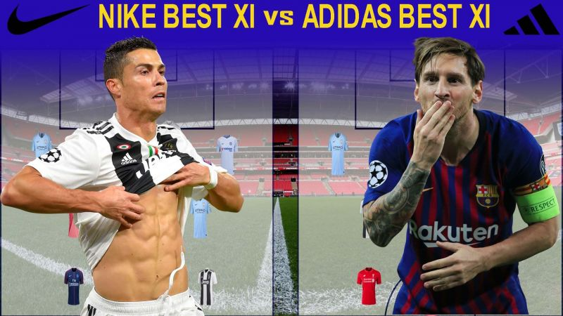 226142110a35 Nike Best XI vs Adidas Best XI