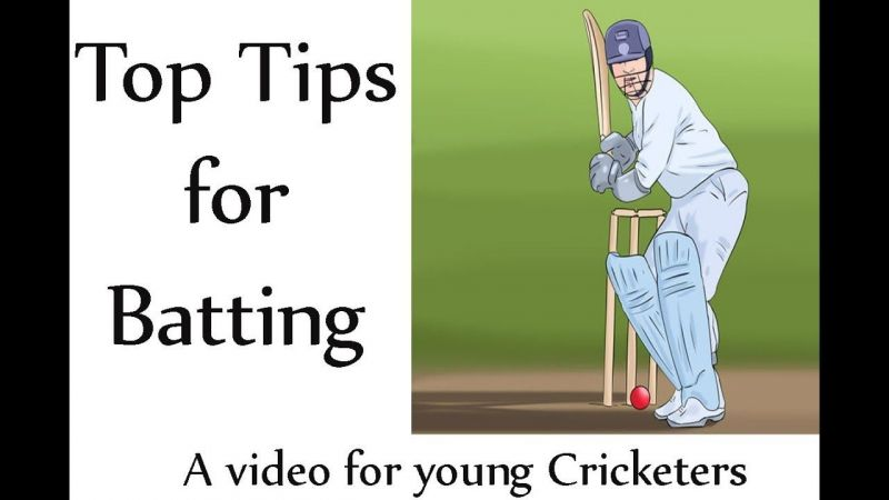 Cricket Coaching Batting Tips Focus On Release Area How