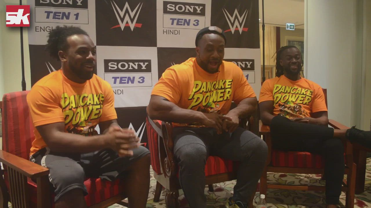 The New Day reminisce their previous trip to India