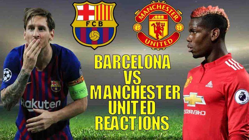 Uefa Champions League Draw Twitter Reacts As Manchester United Draw Barcelona Manchester United Vs Barcelona Fan Reactions