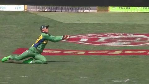 GT20: A spectacular catch by Rassie van der Dussen to dismiss Chris Lynn in the high stake final.