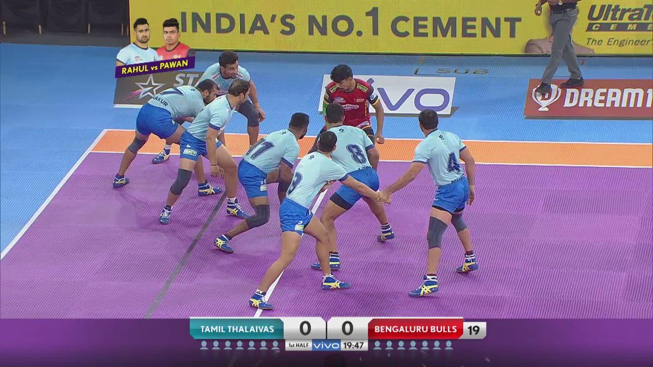 Pro Kabaddi Highlights 2019 : Bengaluru Bulls vs Tamil